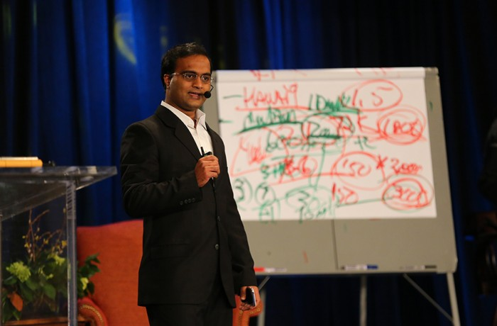 Praveen Narra speaking about Inspiration