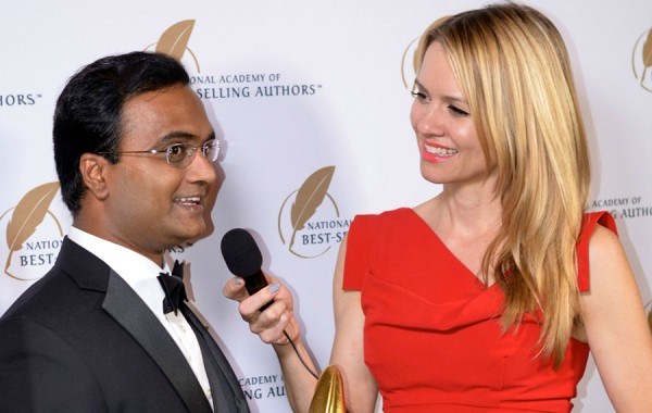 Praveen Narra being interviewed for his book, Successonomics