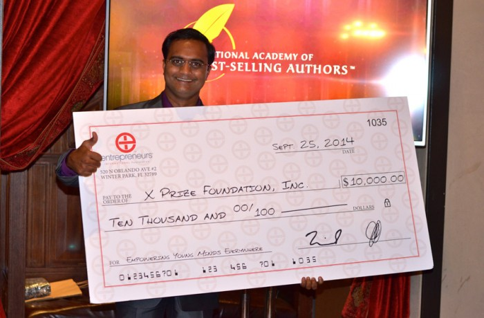 Successonomics Book Raised $10,000 for X Prize Education Fund