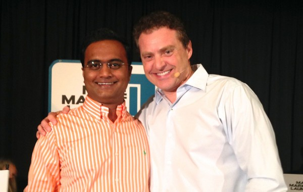 Praveen Narra with Marketing Expert, Mike Koenigs