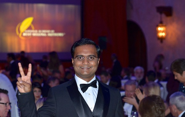 Praveen at Best Seller's Awards Gala